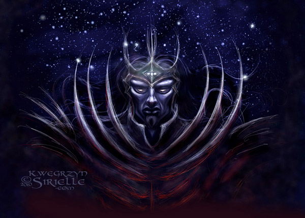 Morgoth of The Silmarillion concept